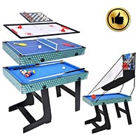 Mesa multijuego air hockey